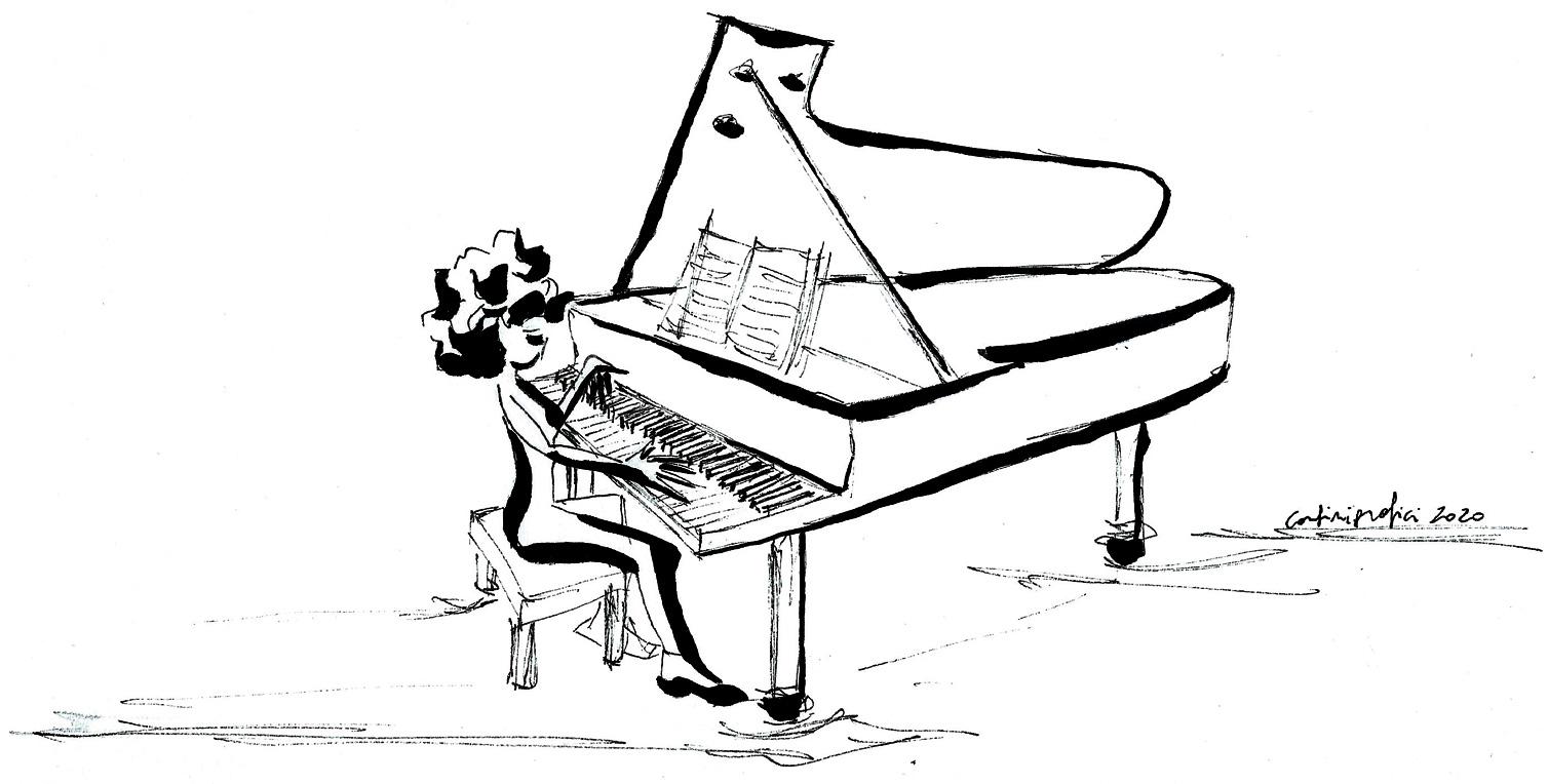 Pianista concertista Gioia Giusti
