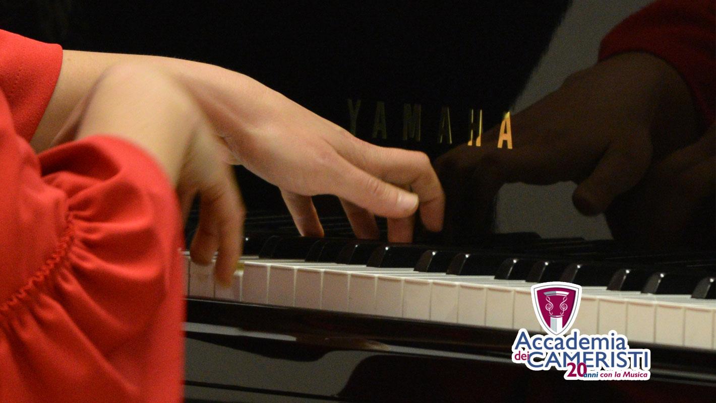pianista concertista Gioia Giusti in concerto per Accademia dei Cameristi 2020