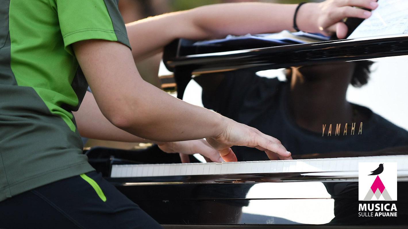 pianista concertista Gioia Giusti in concerto per Musica sulle Apuane 2020